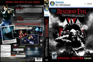 Resident Evil: Operation Raccoon City PC DVD Cover by rapt0r86