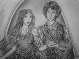 Beleg and Nellas by melime6