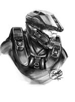 Master Chief by EriDaiho