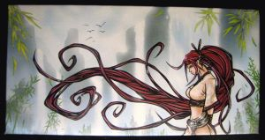 heavenly sword nariko by djfreestyle