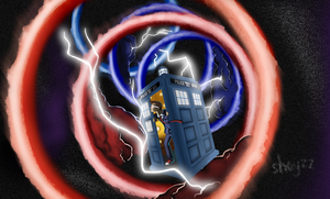 27. Dr Who - Time Vortex by Shoyzz