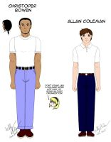 References Christopher and Allan from Pacificators by SailorEnergy