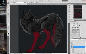 WIP - Satsujin by WhiteSpiritWolf