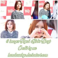 6 images Hyeri (Girl's Day)-photopack-Hanah by hanahsunhyo