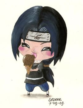 icecream and itachi by Liedeke