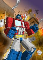 Optimus Prime Colours Complete by palmaay