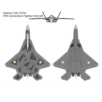 Sukhoi HAL FGFA by atlas1959