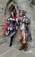 Captain Jack and Fem Assassin (4) by masimage