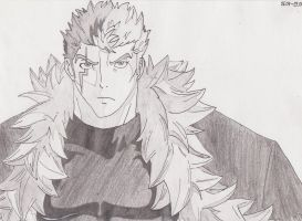 Laxus Dreyar from Fairy Tail B by AnnVanes