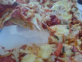 pizza by Methhe