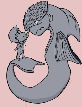 a Boy and his Demon by IngoLingo