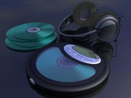 Cd Player by darkproximity