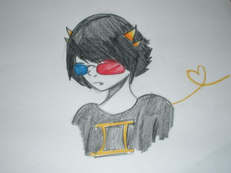 Sollux captor- finished by CottonKandiz