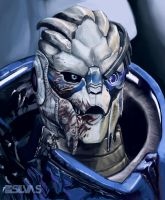 Mister Awesome the Turian by CreativeImages