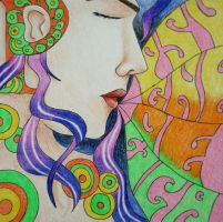 Psychedelic Girl by whaats
