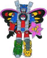 Pokemon Trainer Megazord by MCsaurus