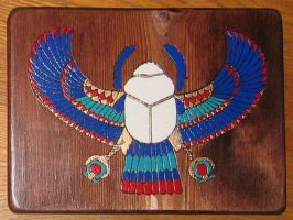 Winged Scarab by maiem