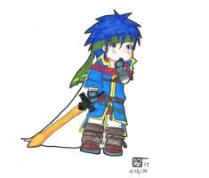 Baby Ike(colored) by HaroPetCreatorLT