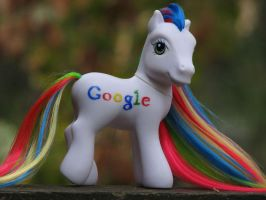 Google Pony by kaikaku
