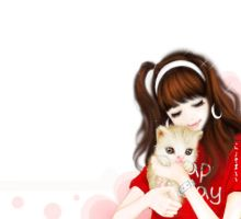 i love my cat by leehaneul