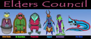 The Elders Council by Lordwormm