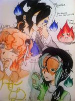 Hollow Flame Demons by Momiji1999