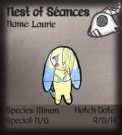 Nest of Seances- Laurie App by chibimaker
