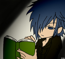 kh - reading in the dark by Syrika