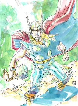 Thor sketch by deankotz