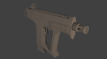 Markhor SMG Untextured by bomerman104