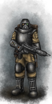 Imperial Guard: Stormtrooper by HQ-Kamissar