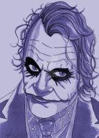 Joker Commission by nathanobrien