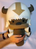 Flying Bison Plush by JanellesPlushies