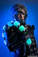 Raiden take home his trophy! by ProVoltageCosplay