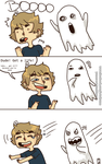 Ghost Puns by Heumilch