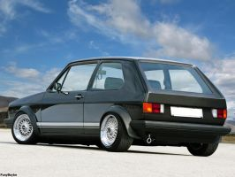 vw golf mk1 by funyboyke