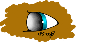 iScribble: Some Oc's Eye, I think by LPS100