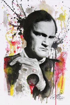Quentin Tarantino. by DeniseEsposito