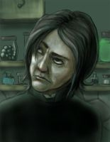 Severus Snape by ShrunkenJedi