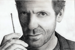 Dr Gregory House - Hugh Laurie by sandraen