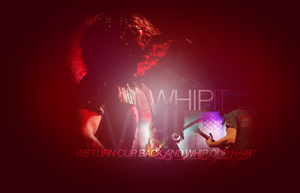 whip it - ray toro by Pusteblumex3