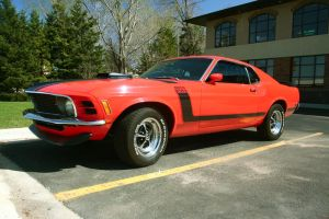 1970 Mustang Boss 302 by bluefishrun
