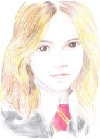 Hermione - Portrait by starcrawler