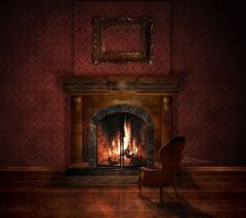 Warmed by a Fire by ti-DESIGN