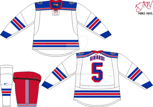 New York Rangers Home V1 by thepegasus1935