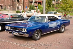 blue 69 Coronet RT by AmericanMuscle