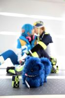 DRAMAtical Murder AOBA and NOIZ 3 by azuooooo