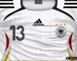 Germany home shirt 2006 by P3P70