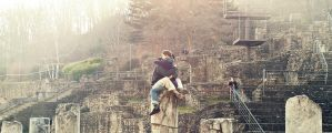 love, climbing pillars by donnosch