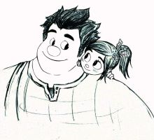 wreck it ralph by BoLdBoNes
